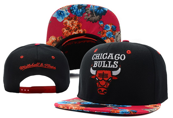 Chicago Bulls Snapback Hat XDF 6